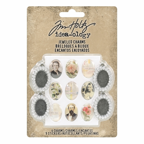 Tim Holtz Idea-ology JEWELED CHARMS th93697* Preview Image
