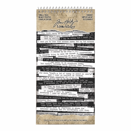 Tim Holtz Snarky Small Talk Stickers
