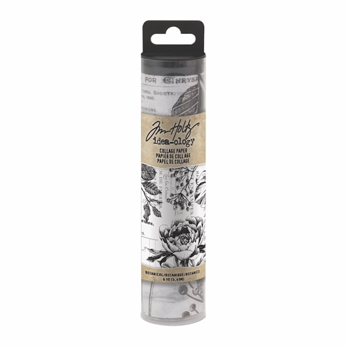Tim Holtz Idea-ology BOTANICAL Collage Paper th93705 Preview Image