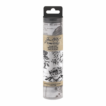 Tim Holtz Idea-ology BOTANICAL Collage Paper th93705