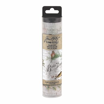 Tim Holtz Idea-ology AVIARY Collage Paper th93706