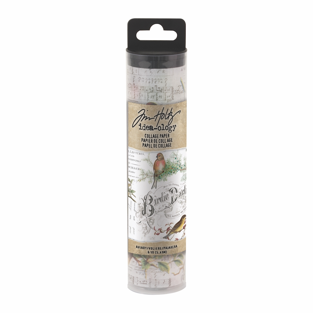 Tim Holtz Idea-ology AVIARY Collage Paper th93706 zoom image