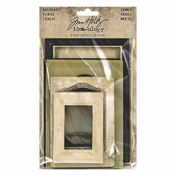 Tim Holtz Idea-ology BASEBOARD FRAMES th93710