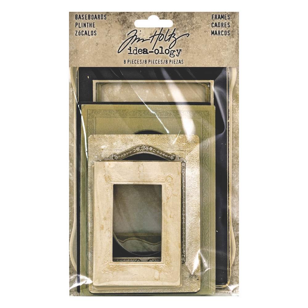 Tim Holtz Idea-ology BASEBOARD FRAMES th93710 zoom image