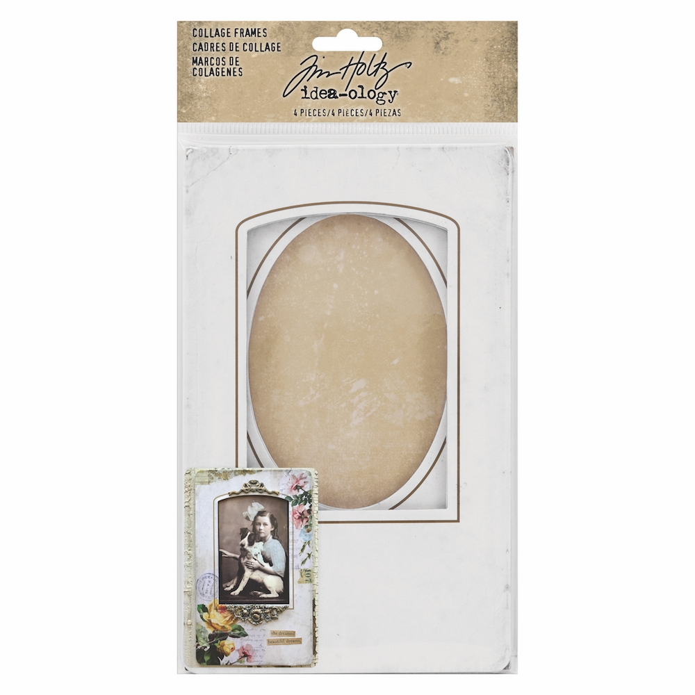 Tim Holtz Idea-ology COLLAGE FRAMES th93711 zoom image