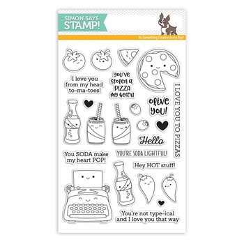 Simon Says Clear Stamps FOODIE FRIENDS sss101819 Love