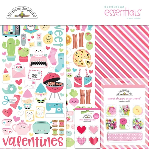 Doodlebug SO PUNNY Collection Essentials Kit 6003* Preview Image