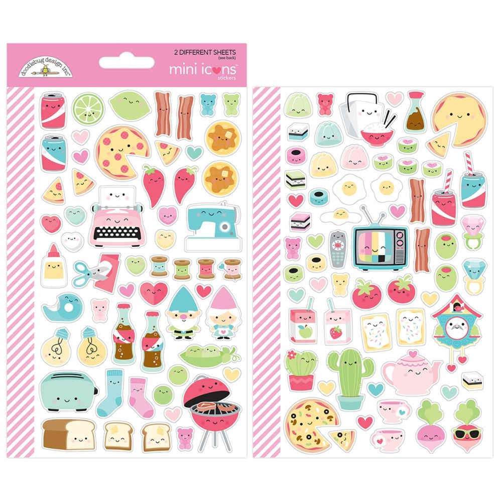 Doodlebug SO PUNNY Mini Icons Stickers 5913 zoom image
