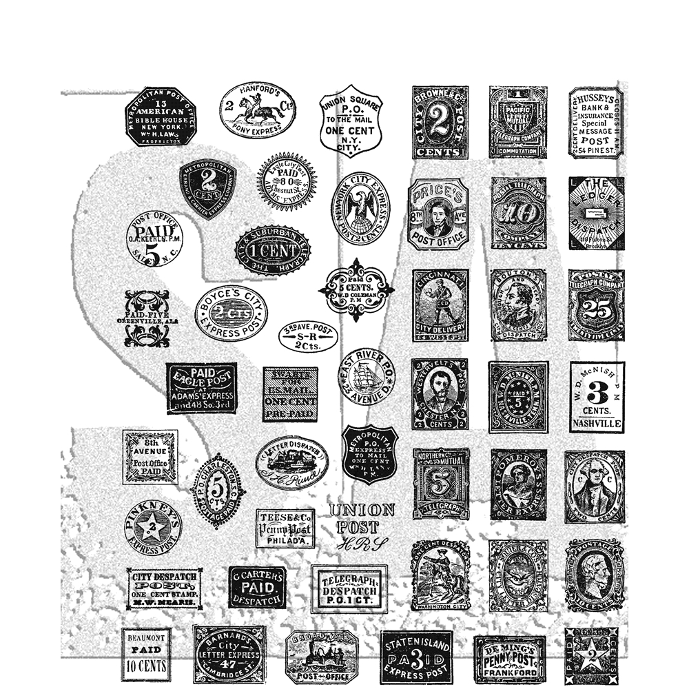 Tim Holtz Cling Rubber Stamps STAMP COLLECTOR CMS338 zoom image