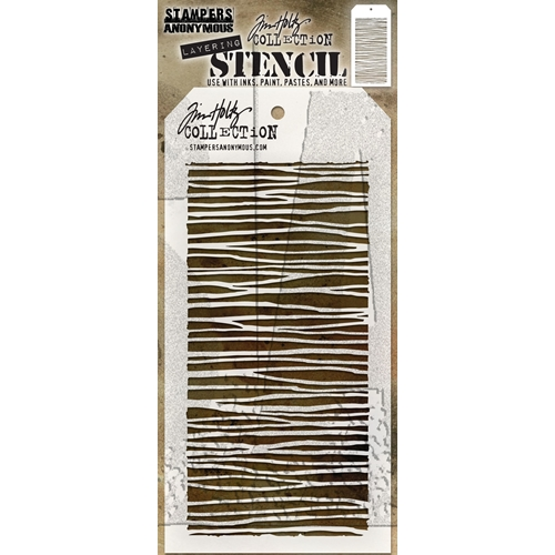 Tim Holtz Layering Stencil STRING THS103 Preview Image