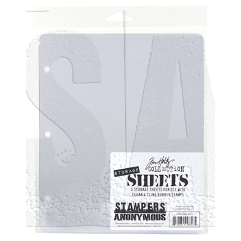 Tim Holtz STORAGE SHEETS CLEAR PACK THSTOR