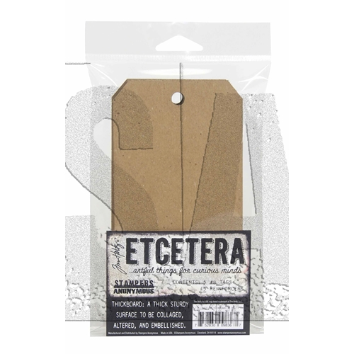 Tim Holtz Etcetera #8 TAG CHIPBOARD ETC005 Preview Image