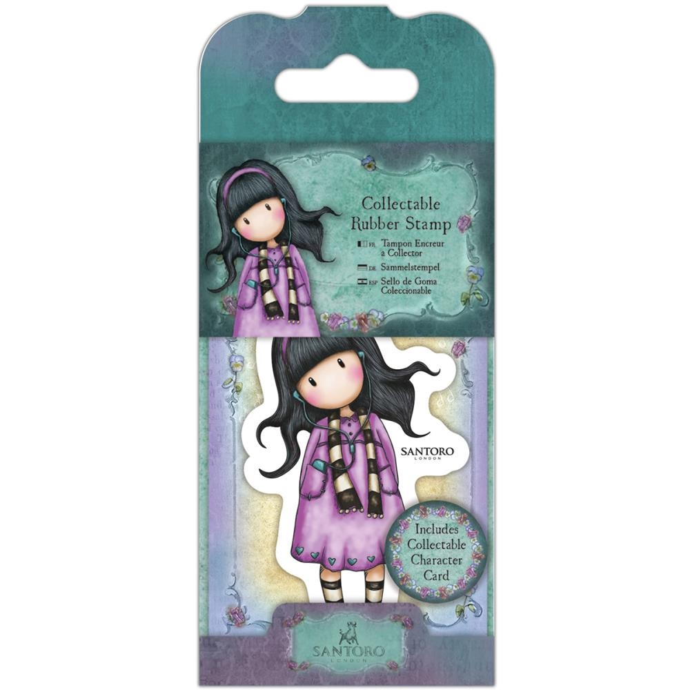 DoCrafts LITTLE SONG Mini Cling Stamp Gorjuss go907403* zoom image