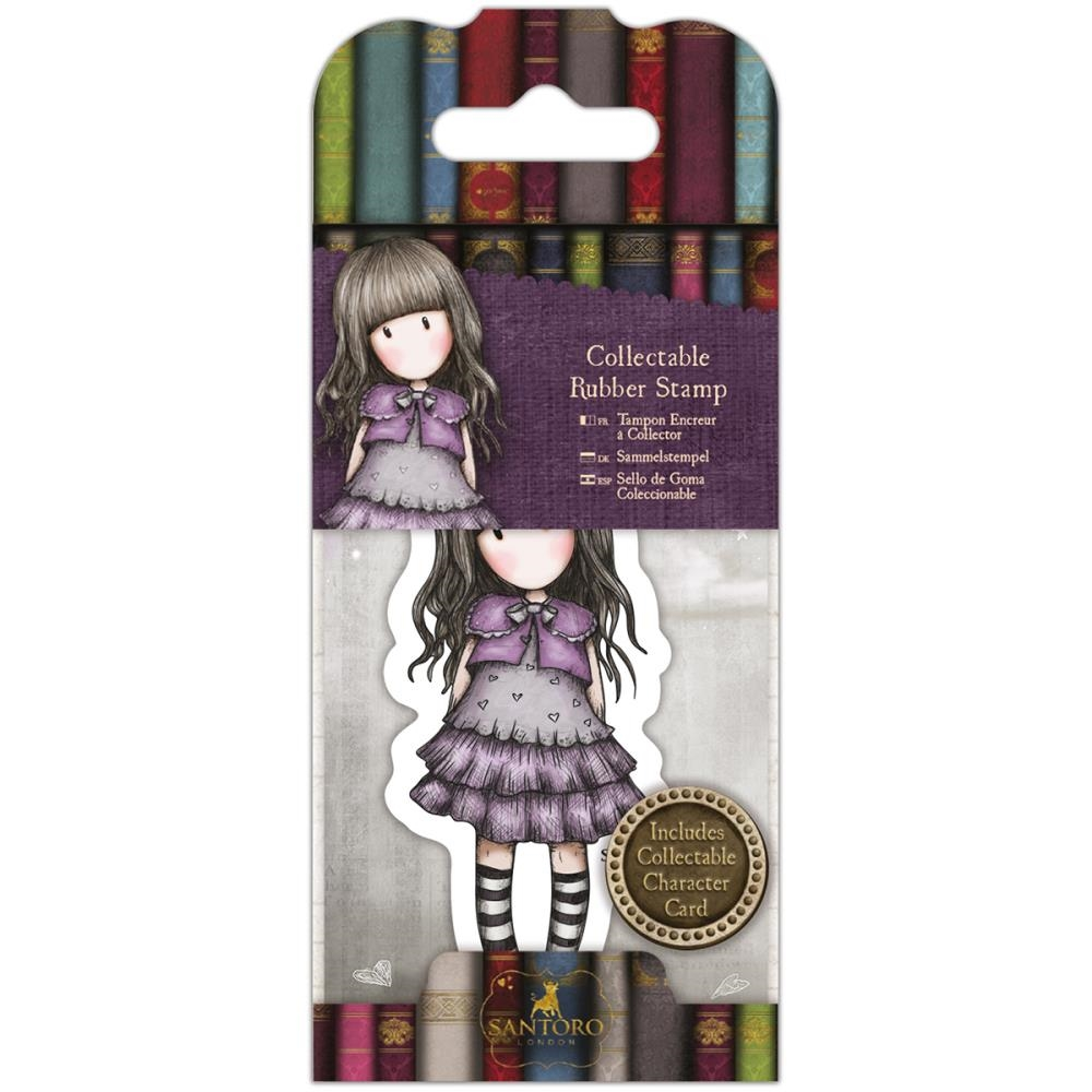 DoCrafts LITTLE VIOLET Mini Cling Stamp Gorjuss go907412* zoom image