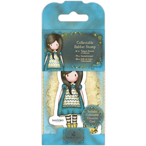 DoCrafts THE LITTLE FRIEND Mini Cling Stamp Gorjuss go907407* Preview Image