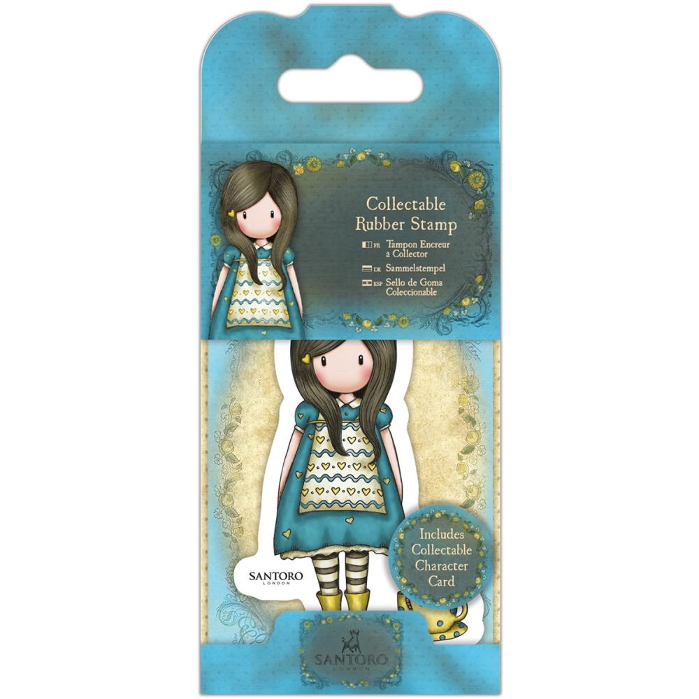 DoCrafts THE LITTLE FRIEND Mini Cling Stamp Gorjuss go907407* zoom image