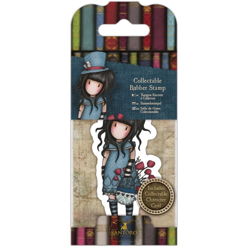DoCrafts THE HATTER Mini Cling Stamp Gorjuss go907409 Preview Image