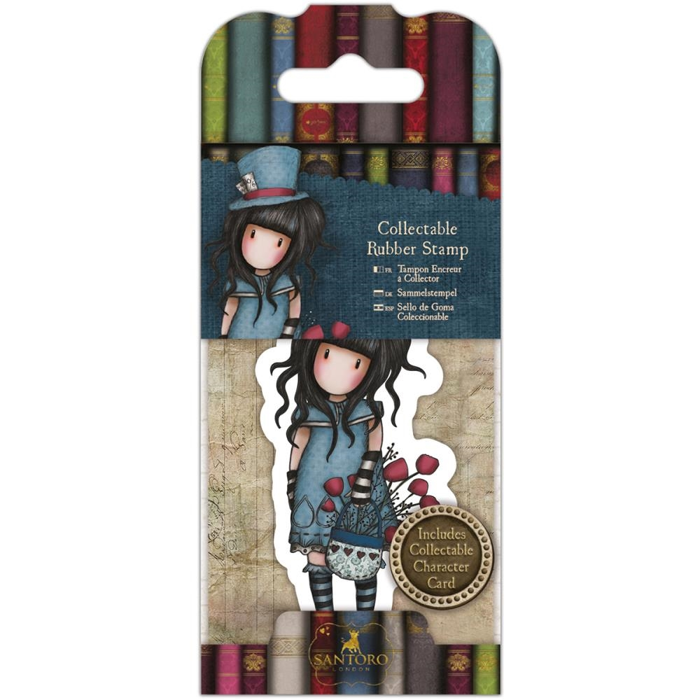 DoCrafts THE HATTER Mini Cling Stamp Gorjuss go907409 zoom image
