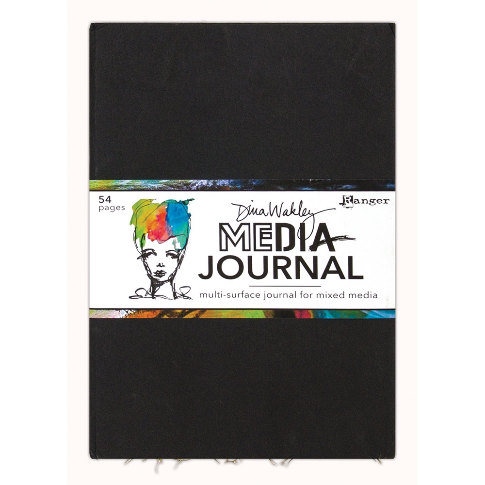 Dina Wakley Ranger LARGE MEDIA JOURNAL mdj61113 zoom image