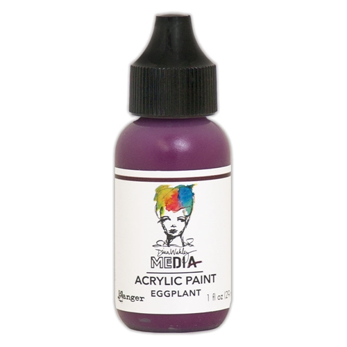 Dina Wakley Ranger EGGPLANT 1OZ Media Acrylic Paint mdq59813 Preview Image