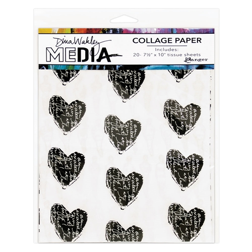 Dina Wakley Ranger COLLAGE PAPER Media mda61076 Preview Image