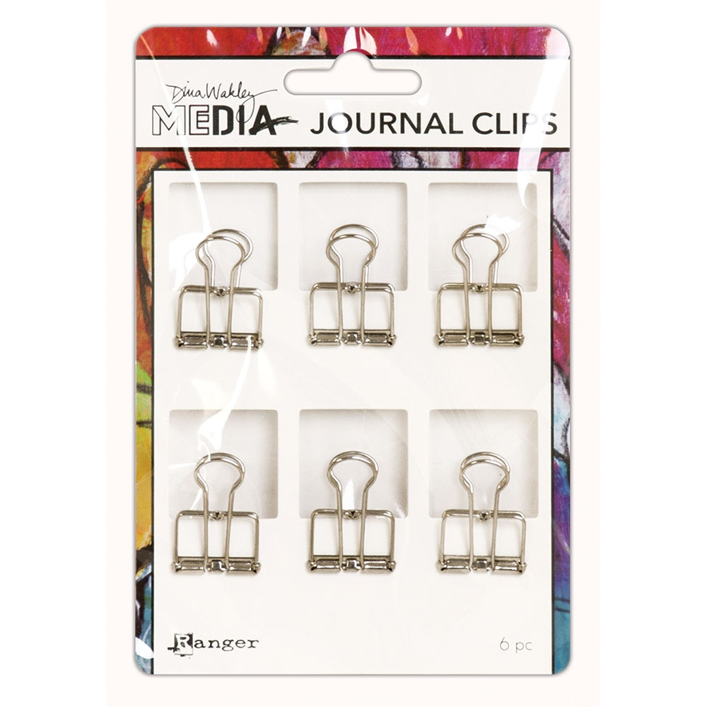 Dina Wakley Ranger SMALL JOURNAL CLIPS Media mda60291 zoom image