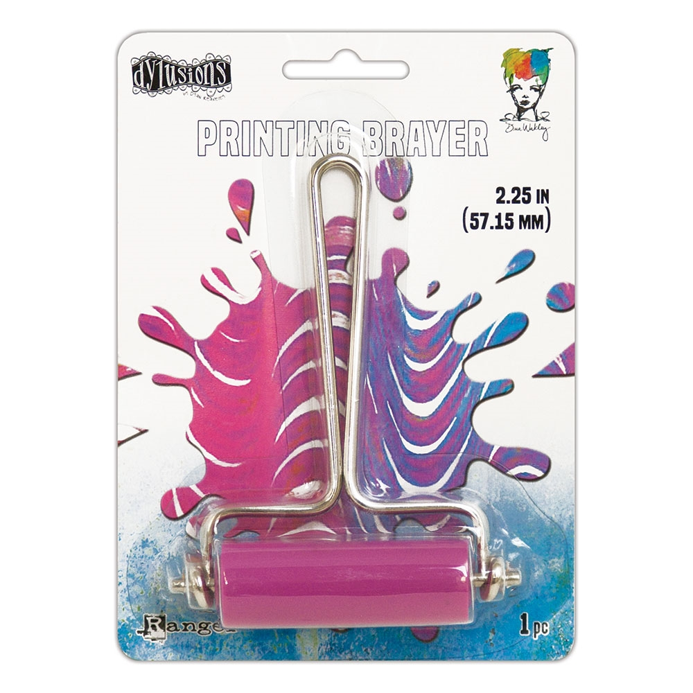 Ranger GEL PLATE SMALL PRINTING BRAYER Dylusions jet59998 zoom image