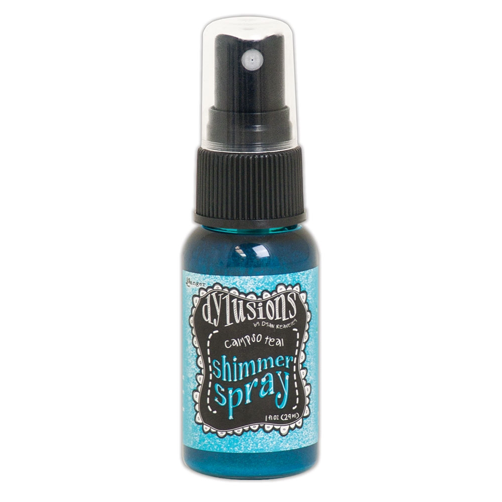 Ranger Dylusions CALYPSO TEAL Shimmer Spray dyh60789 zoom image