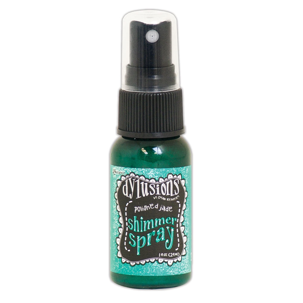 Ranger Dylusions POLISHED JADE Shimmer Spray dyh60840 zoom image