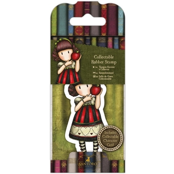 DoCrafts DEAR APPLE Mini Cling Stamp Gorjuss go907417