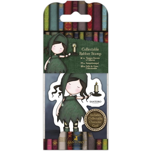 DoCrafts NIGHLIGHT Mini Cling Stamp Gorjuss go907414* Preview Image