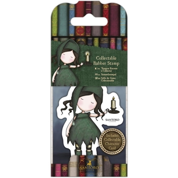 DoCrafts NIGHLIGHT Mini Cling Stamp Gorjuss go907414*