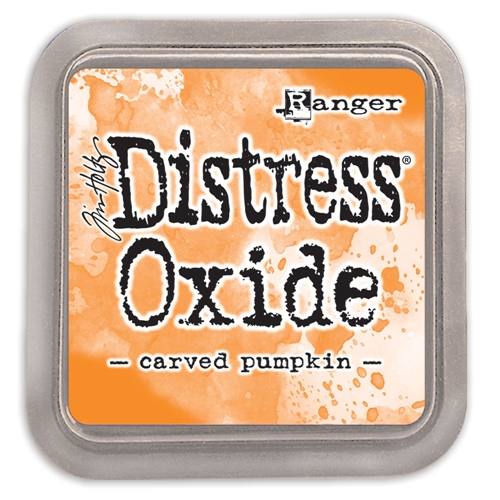 Tim Holtz Distress Oxide Ink Pad CARVED PUMPKIN Ranger tdo55877 Preview Image