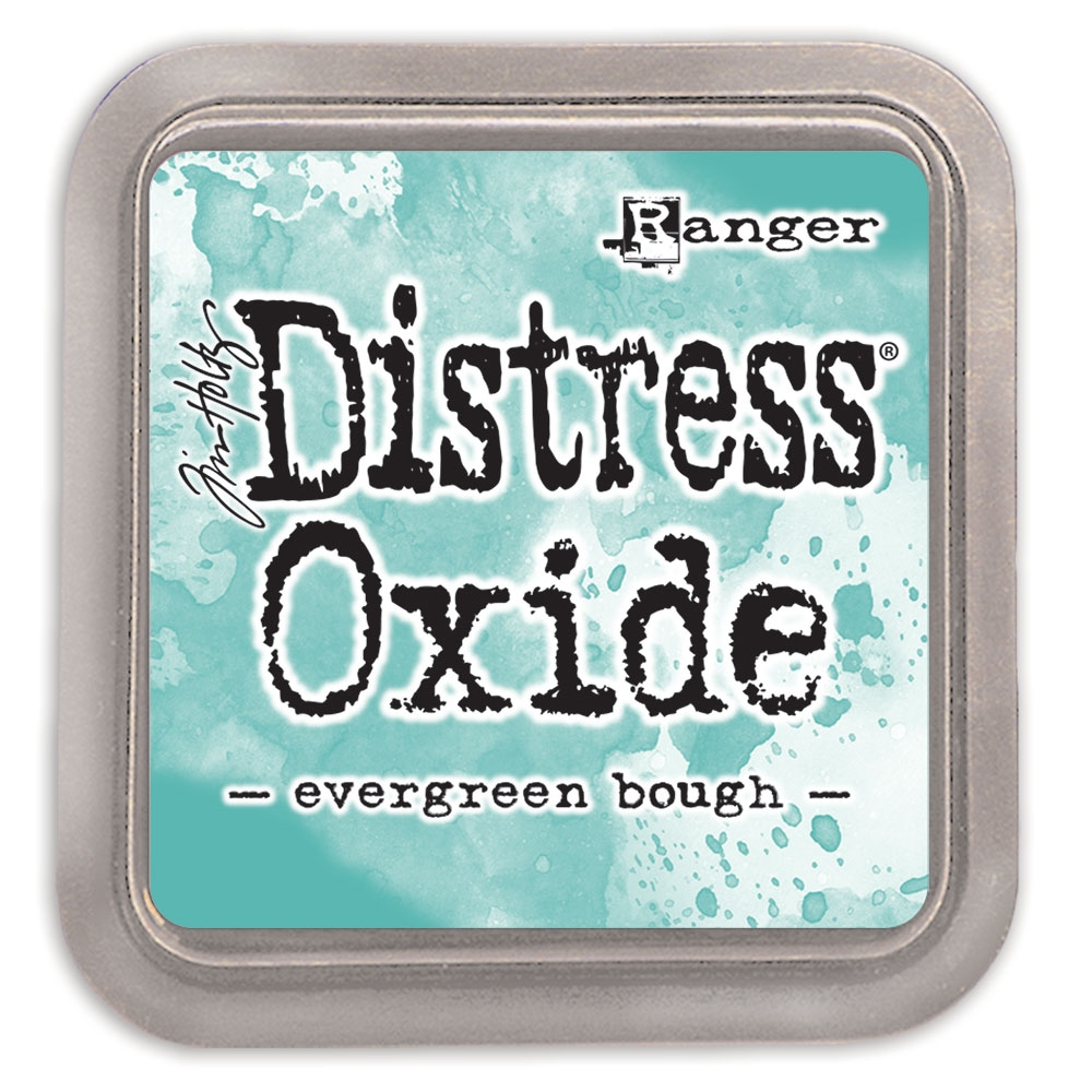 Tim Holtz Distress Oxide Ink Pad EVERGREEN BOUGH Ranger tdo55938 zoom image