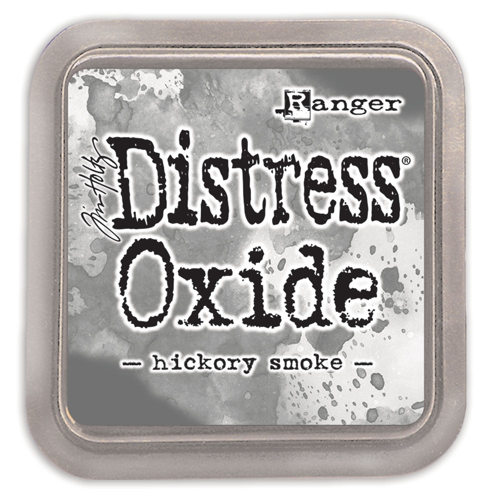 Tim Holtz Distress Oxide Ink Pad HICKORY SMOKE Ranger tdo56027 zoom image