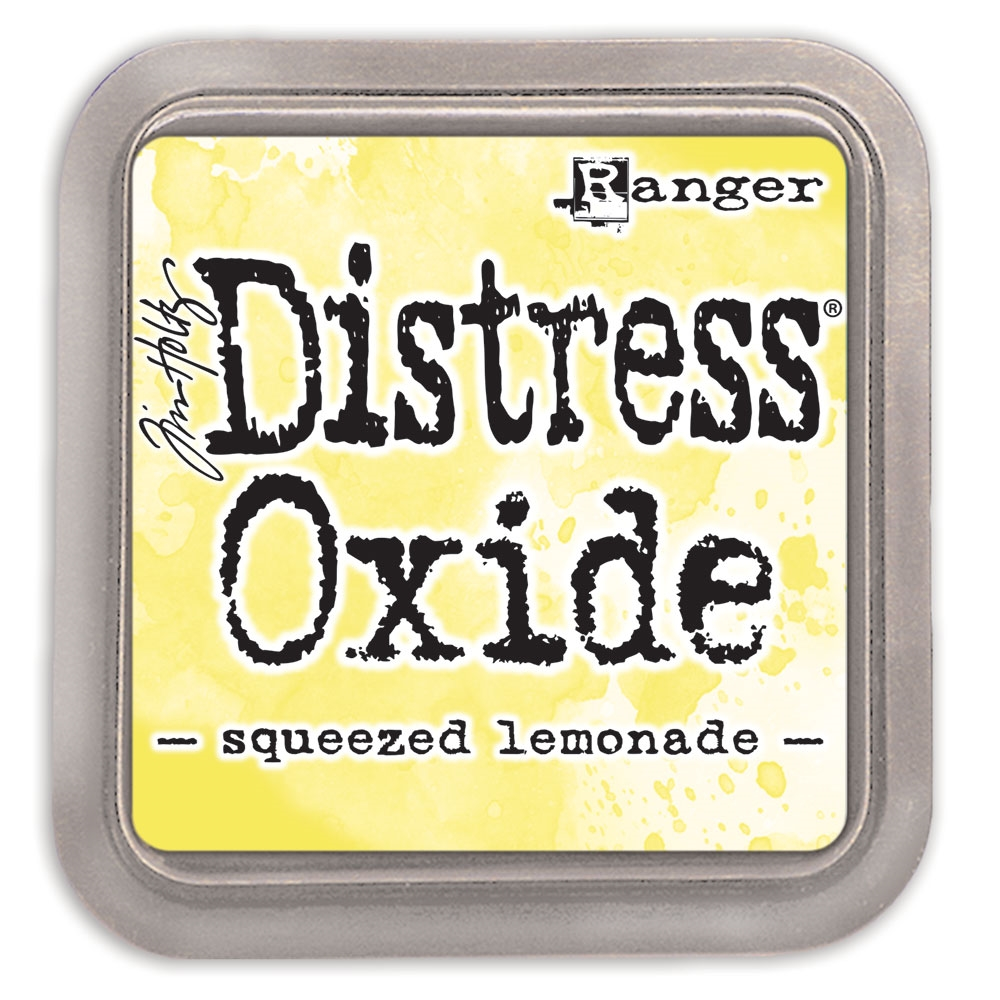 Tim Holtz Distress Oxide Ink Pad SQUEEZED LEMONADE Ranger tdo56249 zoom image