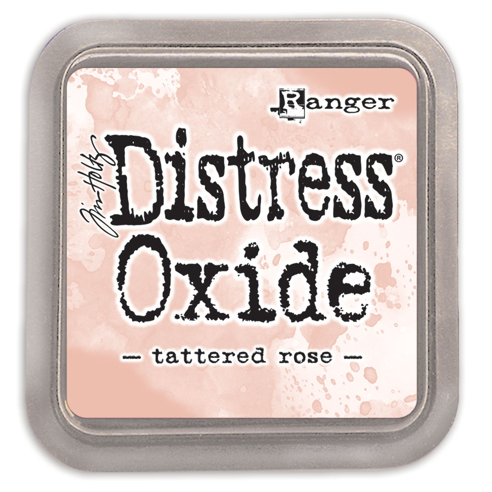 Tim Holtz Distress Oxide Ink Pad TATTERED ROSE Ranger tdo56263 zoom image