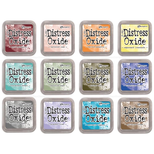 Tim Holtz Distress OXIDE INK PAD SET OF 12 Ranger ranger109 Preview Image