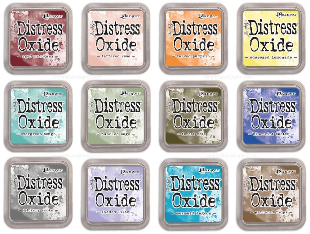 Tim Holtz Distress OXIDE INK PAD SET OF 12 Ranger ranger109 zoom image