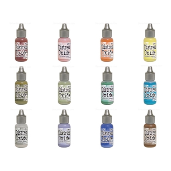 Tim Holtz Distress OXIDE REINKERS SET OF 12 Ranger ranger110