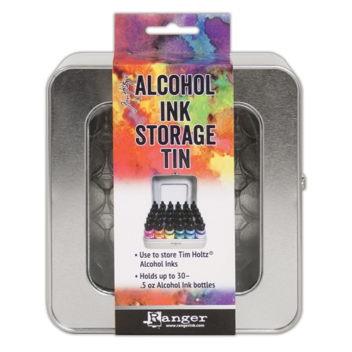 Tim Holtz ALCOHOL INK STORAGE TIN Ranger tac58618 Preview Image