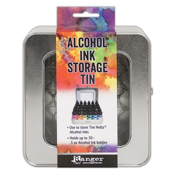 Tim Holtz ALCOHOL INK STORAGE TIN Ranger tac58618