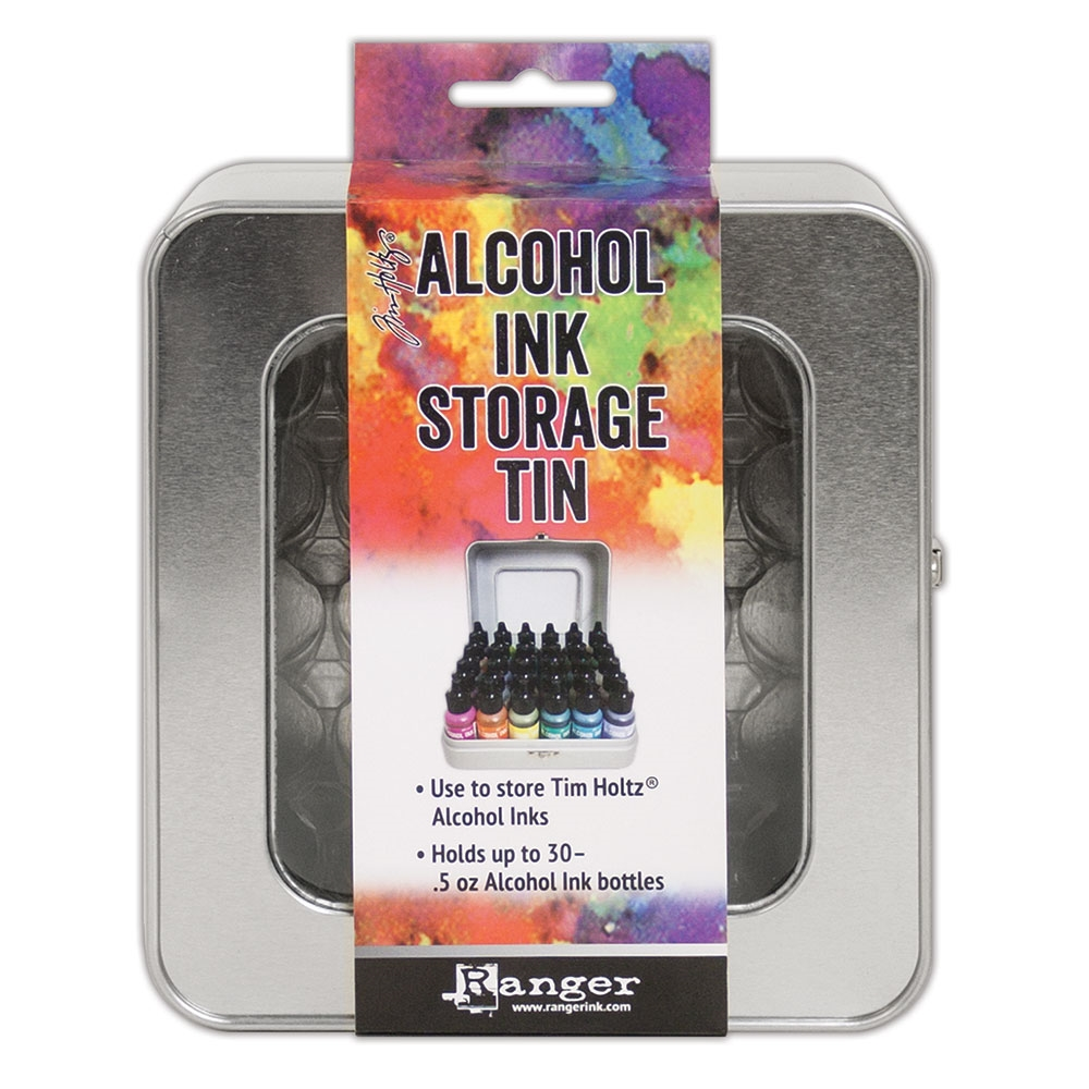Tim Holtz ALCOHOL INK STORAGE TIN Ranger tac58618 zoom image