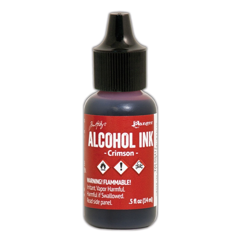 Tim Holtz Crimson Alcohol Ink