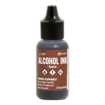 Tim Holtz Alcohol Ink SEPIA Ranger tal59448