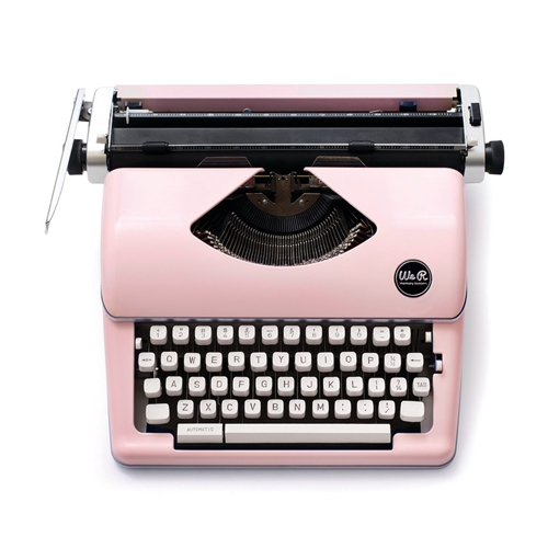 We R Memory Keepers PINK TYPEWRITER Typecast 310297 Preview Image