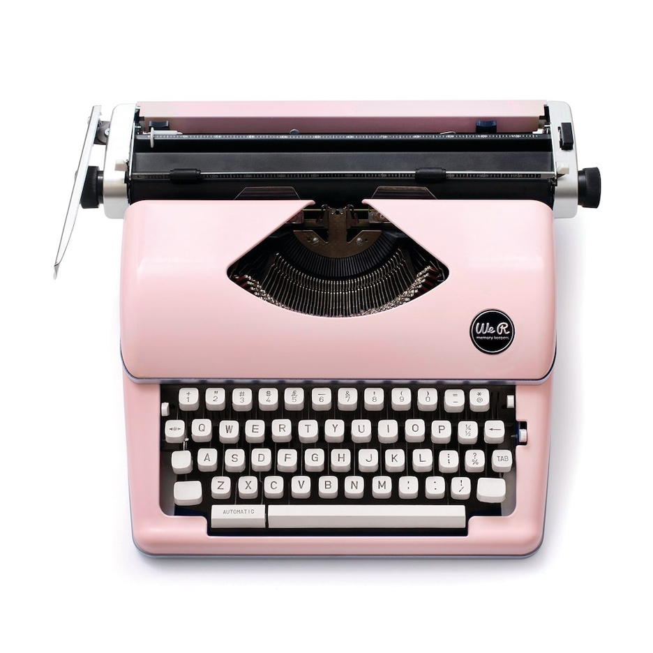 We R Memory Keepers PINK TYPEWRITER Typecast 310297 zoom image