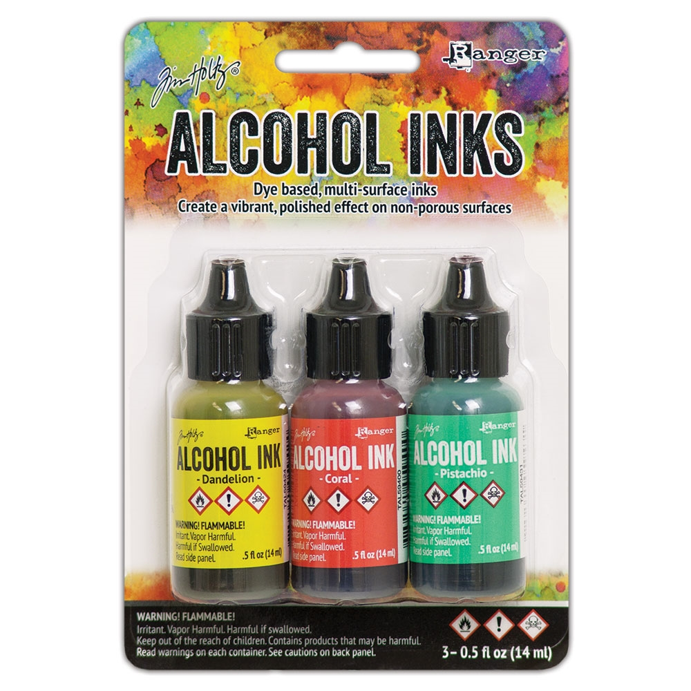 Tim Holtz Alcohol Ink Set KEY WEST Ranger tak58748 zoom image
