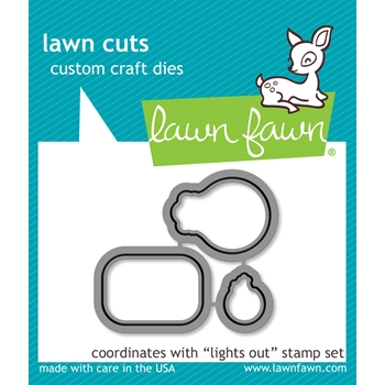 Lawn Fawn LIGHTS OUT Lawn Cuts LF1632