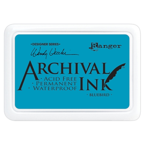 Ranger Wendy Vecchi Archival BLUEBIRD Ink Pad aid61243 Preview Image